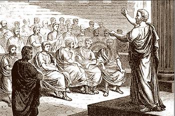 Судебная речь — жанр ораторского искусства