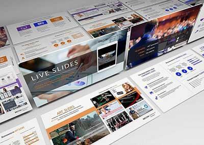 Презентация услуги LIVE SLIDES от BIECOM