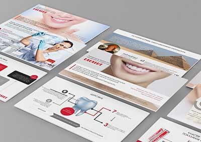Презентация для стоматологической компании «Lacalut»