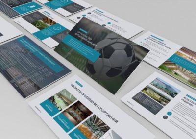 Презентация проекта по строительству футбольных манежей