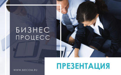 Бизнес процесс презентация