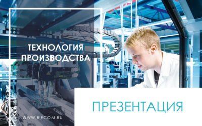 Технология производства презентация