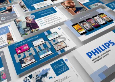 Продающая презентация для компании Philips