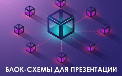 10 современных шаблонов блок-схем для презентаций