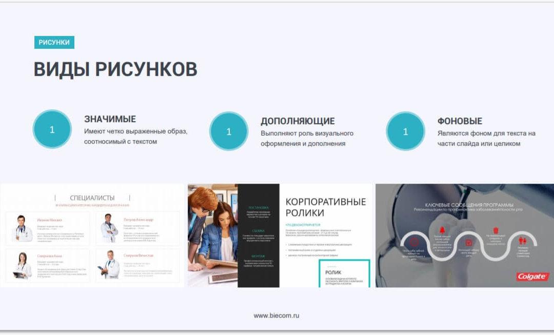 Изображения для презентации: как правильно разместить и где найти